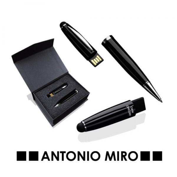 Detalle de boda Boligrafo Puntero Usb Latrex 8Gb -Antonio Miro-