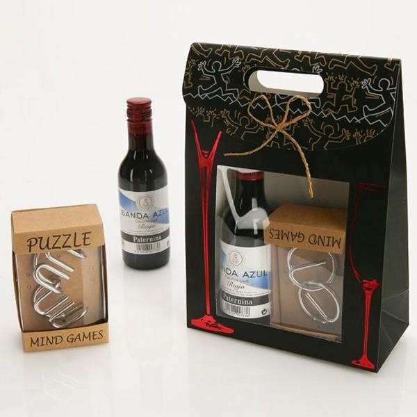 Vino Faustino VII+ Bolsa+Pasatiempos Metal-[Envoltorio:Con envoltorio]