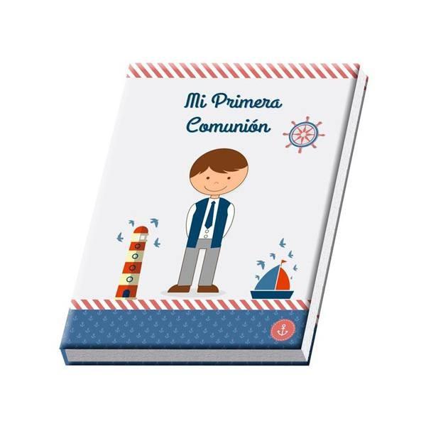 Libro de firmas para comunión de niño