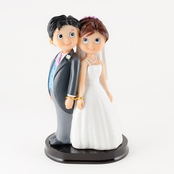 Complemento para boda pareja novios esposados