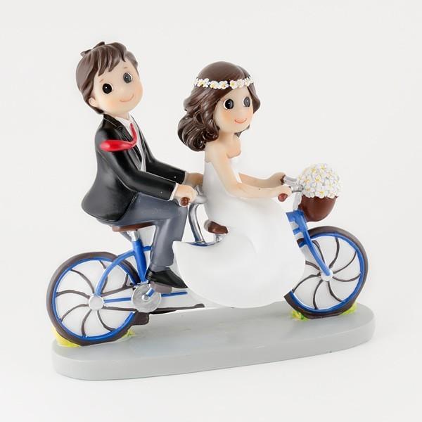 Complemento para boda pareja de novios tandem