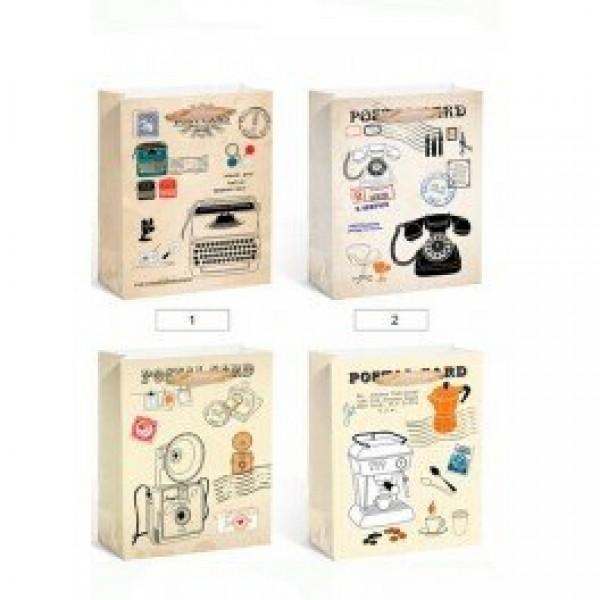 Complemento para detalles bolsa papel Post card