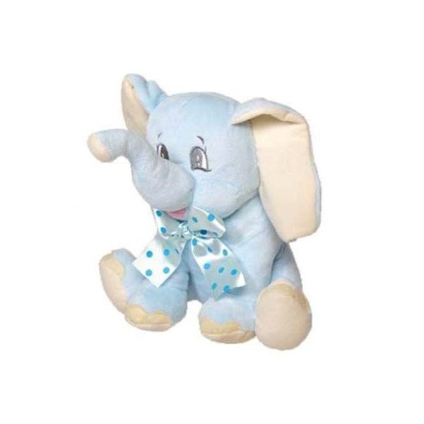 Detalle para Bautizo peluche elefante azul