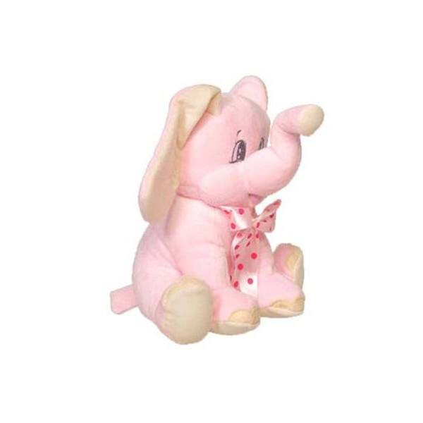 Detalle para Bautizo peluche elefante rosa