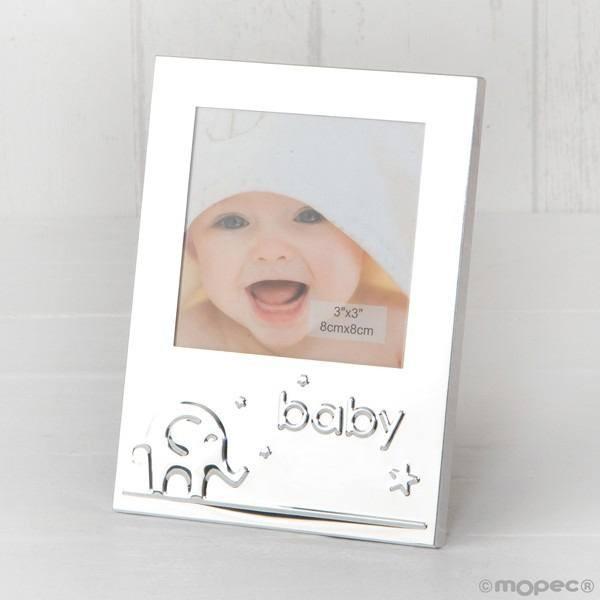 Detalle bautizo portafoto baby