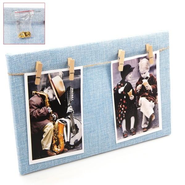 Detalle bautizo portafoto madera cuadro azul