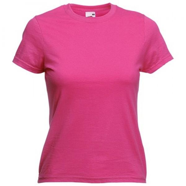 Detalle de Boda Camiseta Mujer Color Valueweight Rosa