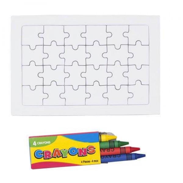Detalle comunión Puzzle Zeta niños