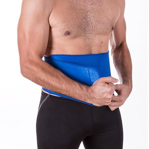 Detalle de Boda Cinturon Lumbar Visser Azul