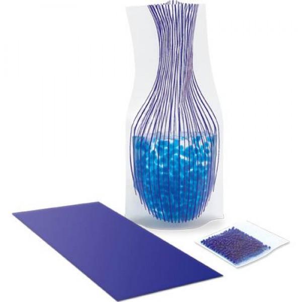 Detalle de Boda Florero Envelope Azul