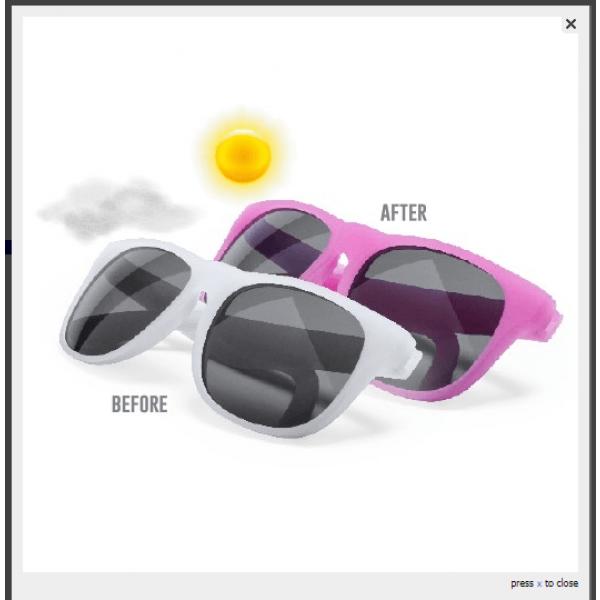 Detalle de Boda Gafas Sol Lantax Blancas