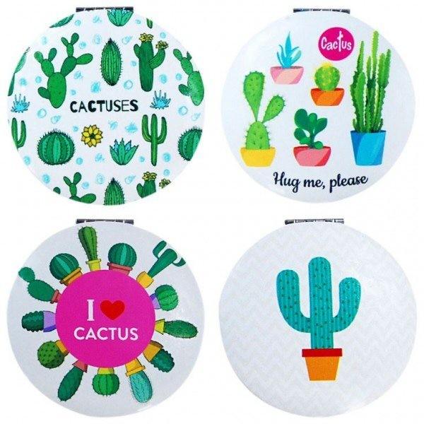Detalle Boda espejo cactus redondo