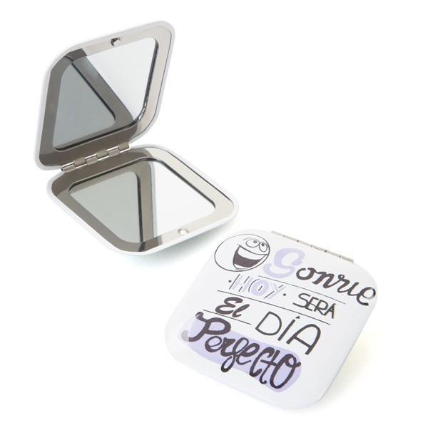 Detalle boda original espejo aluminio frases