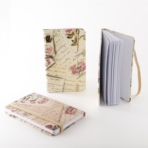 Detalle de Boda libreta notas elegante postales