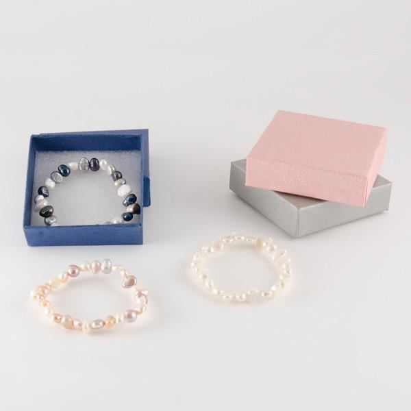 Recuerdo de Boda para mujer pulsera perlas naturales