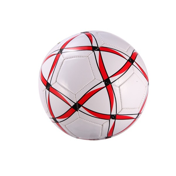 Detalle comunión balón fútbol rayado niños