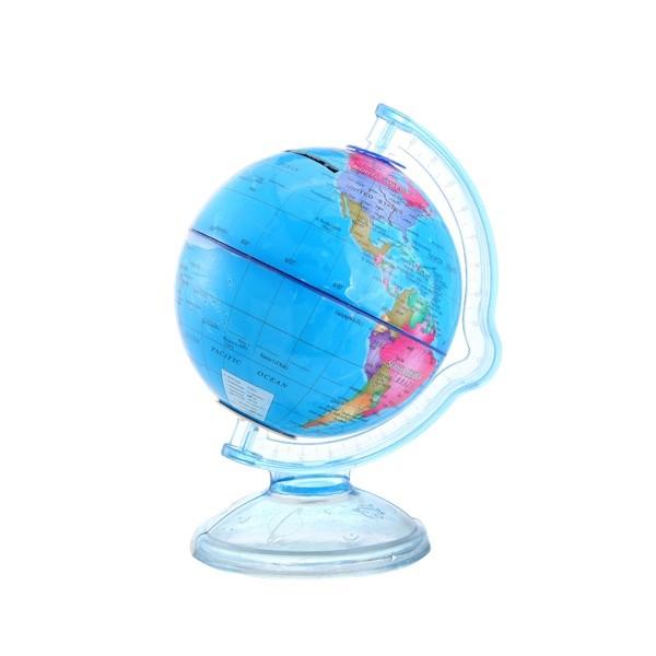 Detalle comunión hucha bola del mundo niños