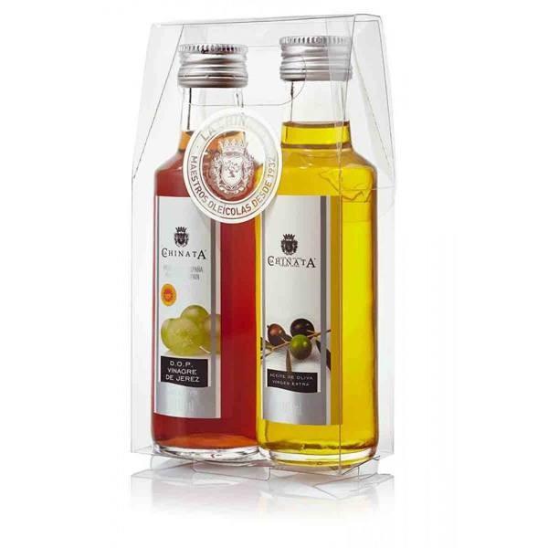 Detalle Boda original aceite de oliva y vinagre