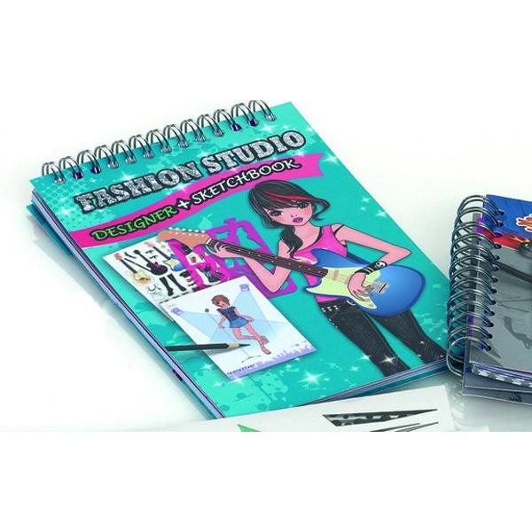 Detalle para niños cuaderno chicas moda