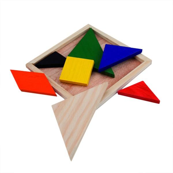 Detalle de Boda Puzzle Tangram