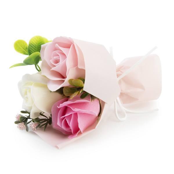 Detalle boda ramo flores de jabón