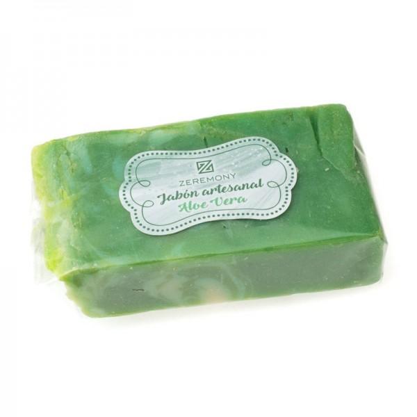 Jabón artesanal de aloe vera para comunión