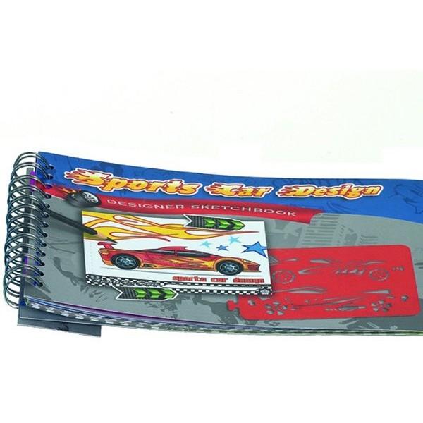 Detalle para niños cuaderno chicos coche