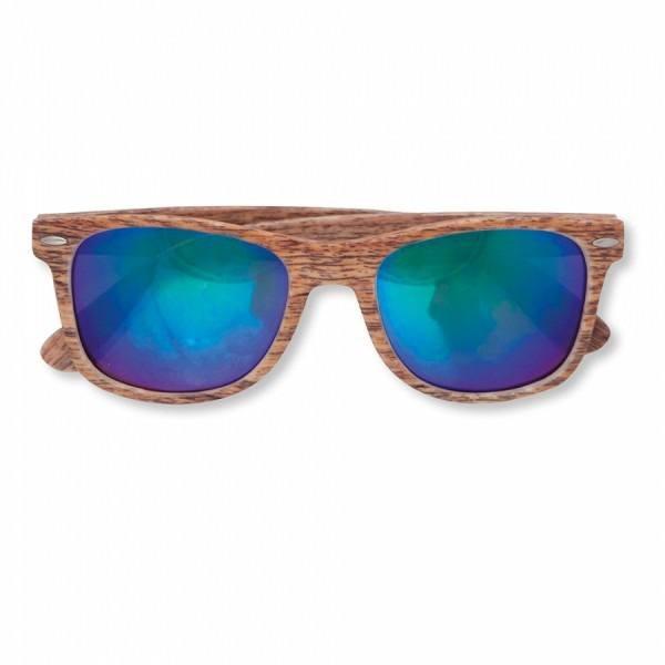 Detalle Boda gafas de sol de madera