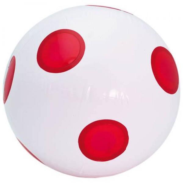 Detalle de Boda Balon Anfield Rojo y Blanco