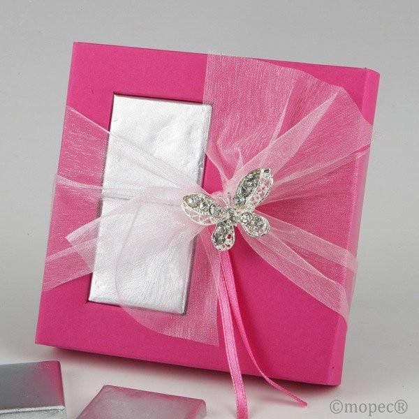 Detalle de boda para mujer broche mariposa strass