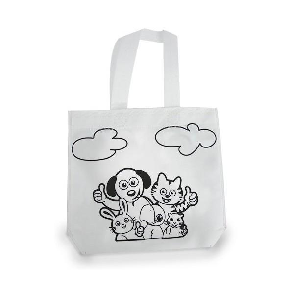 Detalle para niños bolsa para colorear
