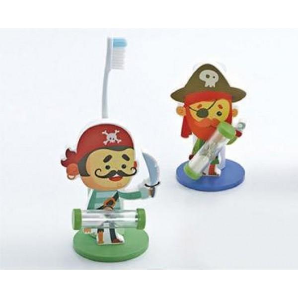Detalle para niños porta cepillos pirata