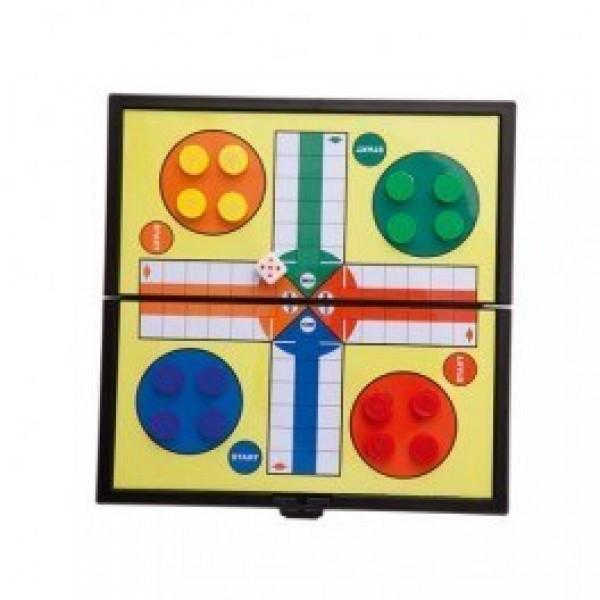 Detalle para niños juego magnetico parchis damas o tres en raya