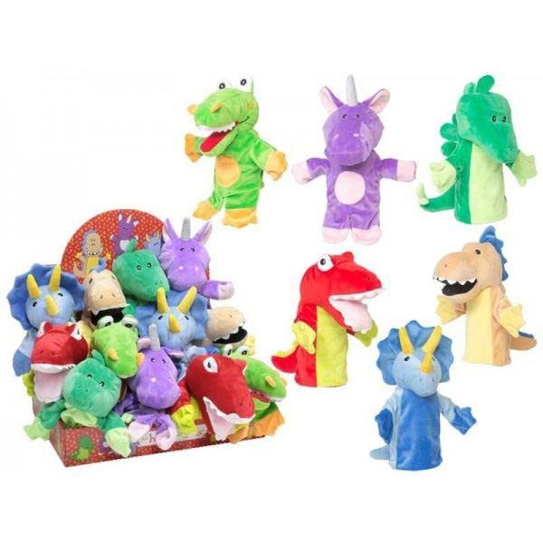 Detalle para niños marioneta dinosaurio