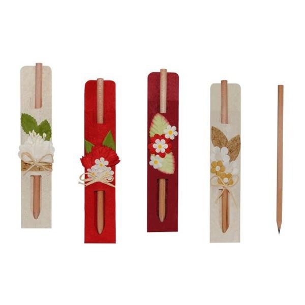 Detalle para boda lapicero de madera decorativo