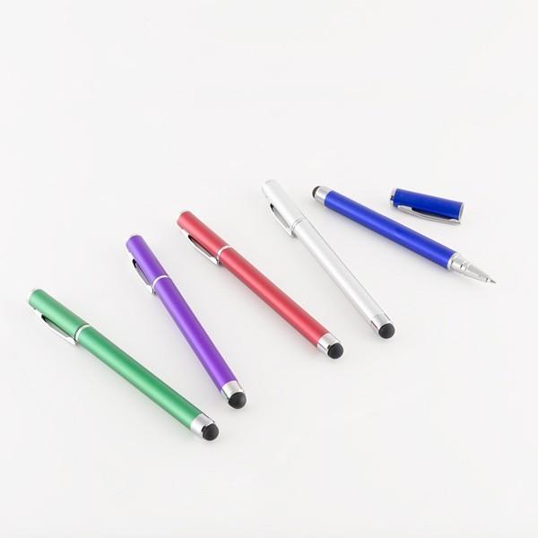 Detalle de Boda bolígrafo con puntero de colores