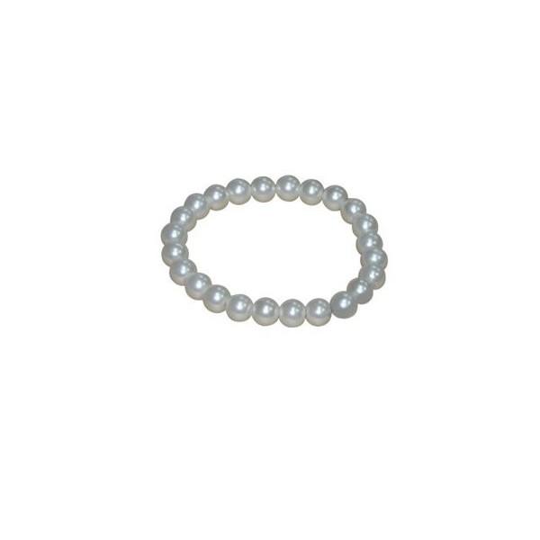 Detalle para boda pulsera perlas blancas
