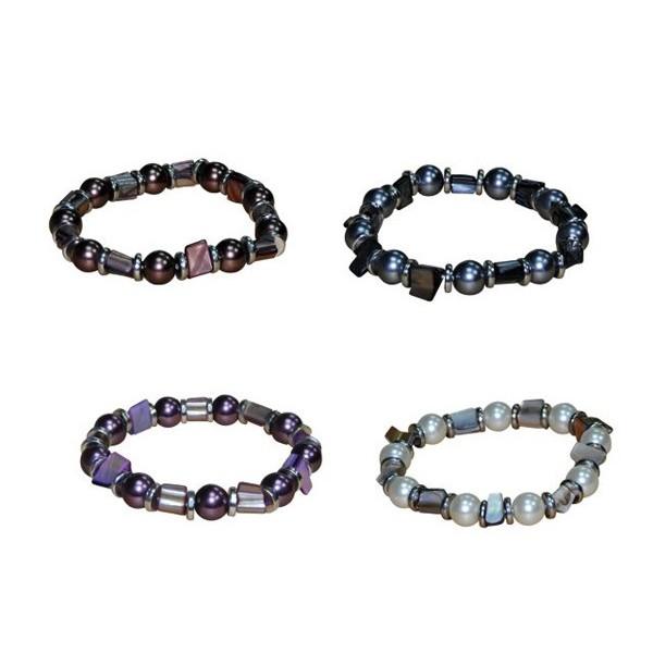 Detalle para boda pulsera perlas color