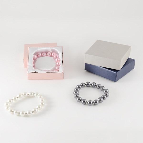 Detalle de Boda pulsera perla cristal colores