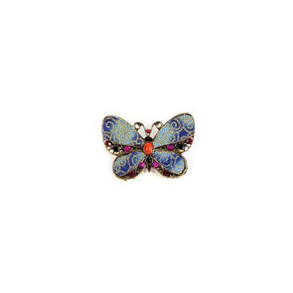 Detalle boda original broche mariposa