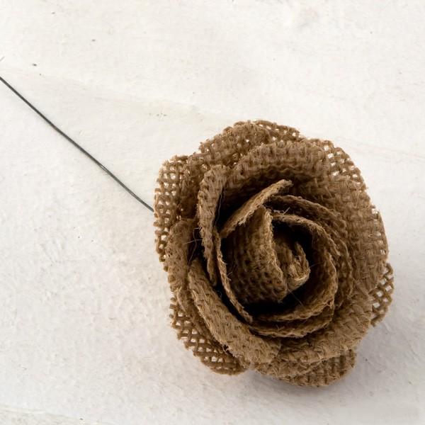 Flor yute - Lote de 4