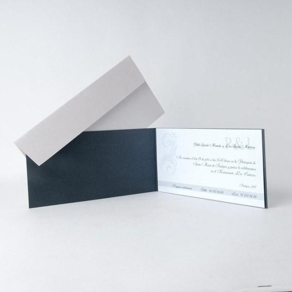 Detalle Boda Invitación rectangular