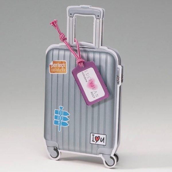 Invitación Boda creativa maleta