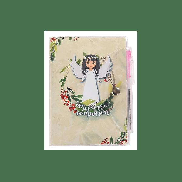 Detalle Comunión libreta y Bolígrafo niña