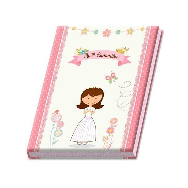 Libro de álbum firmas niña para detalle comunión