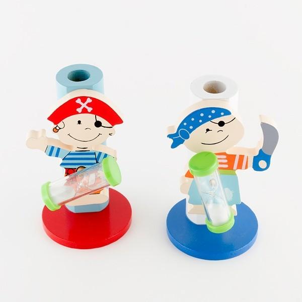 Detalle comunión porta cepillos pirata niños