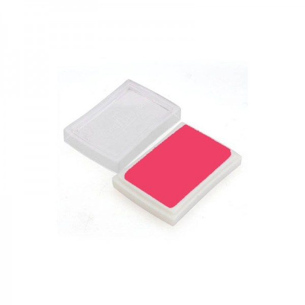 Tinta Rosa para Sellos de Caucho