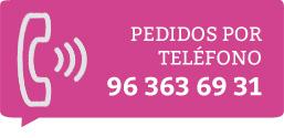 Pedidos por teléfono 96 363 69 31